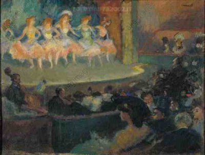 Cafe concert by Canals, Ricard (1876-1931)