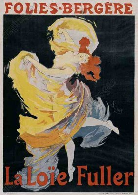Loie Fuller (Poster) by Cheret, Jules (1836-1932)